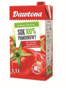 Sok 100% Pomidorowy Dawtona_1,1 l