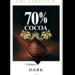 Lindt Excellence 70% Cacao – gorzka czekolada o wysokiej zawartości kakao