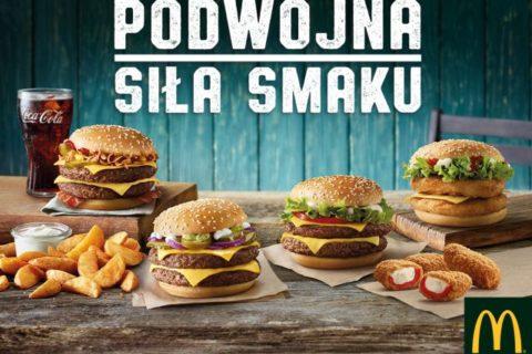 Podwójna siła smaku w McDonald's®