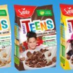 Nowość od Sante! Smart Teens – w pełni naturalne, pełnoziarniste, z dużą dawką witamin, wyjątkowe chrupki zbożowe dla dzieci!