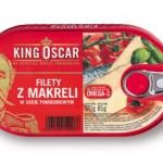 Oscarowe danie, czyli Filety z makreli w sosie pomidorowym firmy King Oscar