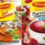 Czerwone zupy na zimę z marką WINIARY