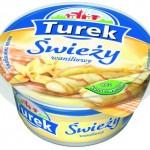 Nowość Turek Świeży waniliowy