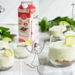 Serniczki bez pieczenia – z awokado i limonką