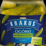 Nowe korniszony marki Krakus – delikatne, chrupkie, o wyjątkowym smaku, na każdą okazję + przepis