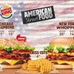 Odkryj Amerykę! American Street Food w Burger King