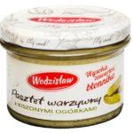 Pasztet warzywny z kiszonymi ogórkami Wodzisław
