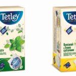 """Odkryj nową jakość smaku herbat ziołowych Tetley, w wyjątkowych torebkach """"WYCIŚNIJ I SMAKUJ"""""""