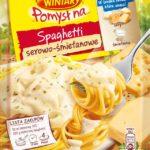 NOWOŚĆ: WINIARY POMYSŁ NA. Spaghetti serowo-śmietanowe