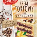 Aromatyczny, waniliowy, pyszny… Nowy krem tortowy Delecta!